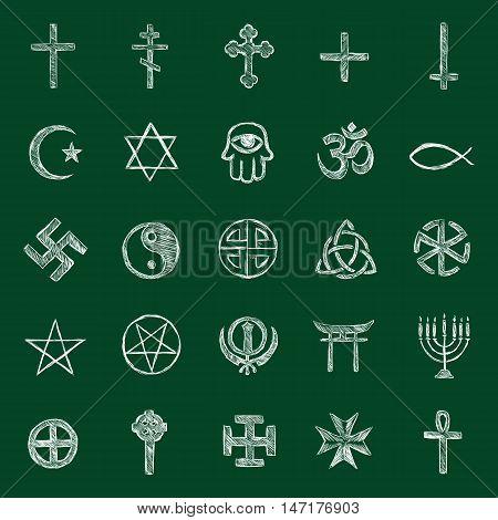 Vector Religious Icons