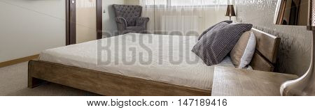 Bedroom With King Size Bed Idea