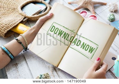 Download Now Information Technology Transfer Concept
