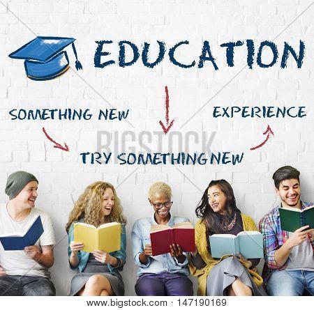 Academic Education Explore Knowledge Graphic Concept