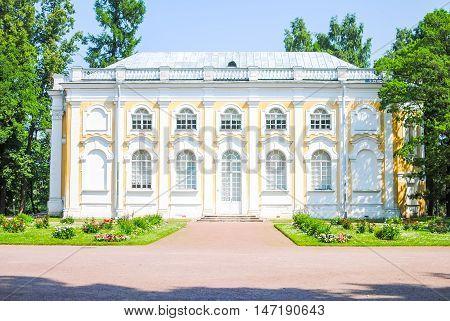 magnificent buildings in Oranienbaum Lomonosov. St. Petersburg poster