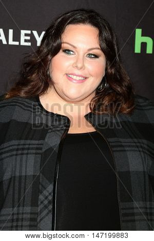 LOS ANGELES - SEP 13:  Chrissy Metz at the PaleyFest 2016 Fall TV Preview - NBC at the Paley Center For Media on September 13, 2016 in Beverly Hills, CA