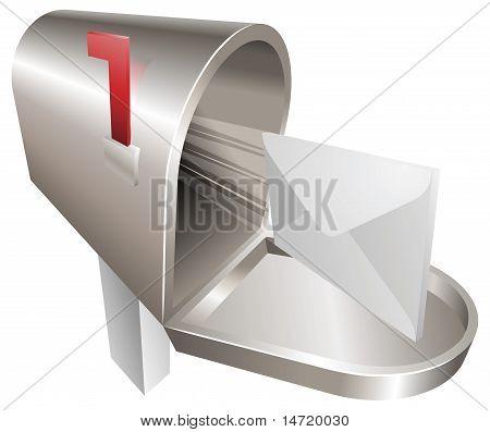 Mailbox Illustration Concept
