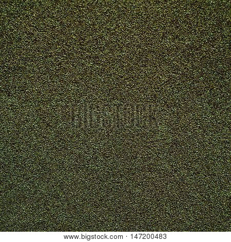 Green Sandpaper texture for Backdrop. Abstract rough sandpaper sheet close up for banner poster ad template design