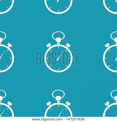 Stopwatch icon pattern. Stock vector. Vector illustration.