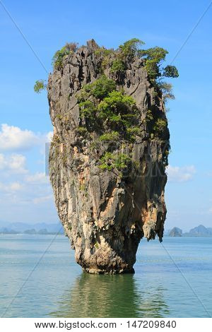 James Bond Island (Khao Phing Kan Ko Tapu) Phang Nga Bay Thailand