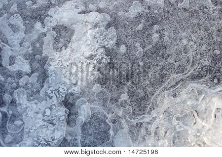 Texture Of Frozen Water