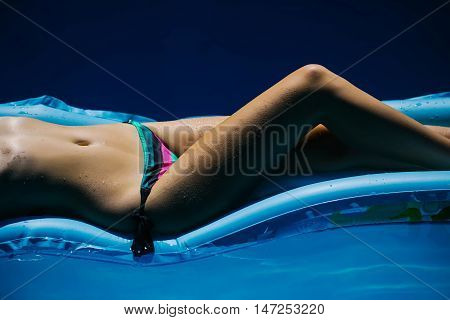 Female Body Of Young Woman