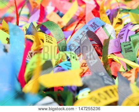 Brazilian Ribbons - Fita Do Senhor Do Bonfim
