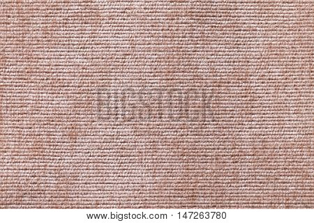 Light brown background from a soft textile material. sheathing fabric with natural texture. Cloth backdrop.