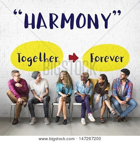 Friends Harmony Fellowship Togetherness Concept