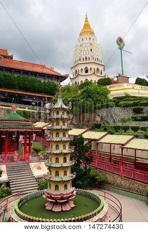 Kek Lok Si Temple, Penang, Malaysia..