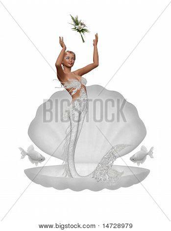 a bride mermaid