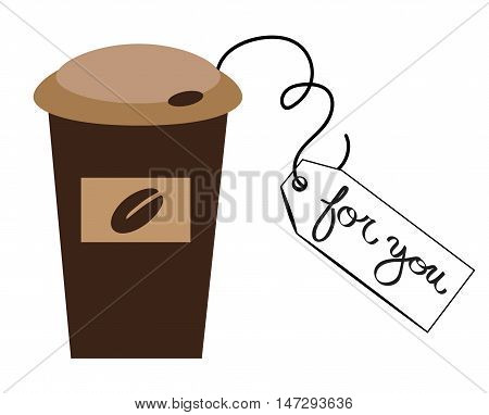 To Go Hot Coffee Mocha Latte For You