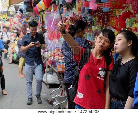 Vietnamese Lantern Street,  Mid Autumn Festival