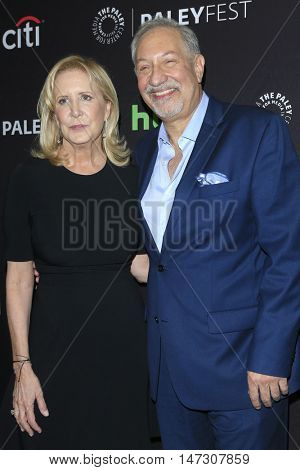 LOS ANGELES - SEP 10:  Wendy Walker, Mark Geragos at the PaleyFest 2016 Fall TV Preview - ABC at the Paley Center For Media on September 10, 2016 in Beverly Hills, CA