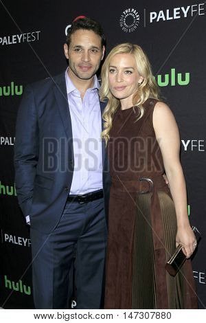 LOS ANGELES - SEP 10:  Daniel Sunjata, Piper Perabo at the PaleyFest 2016 Fall TV Preview - ABC at the Paley Center For Media on September 10, 2016 in Beverly Hills, CA