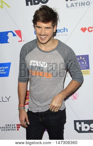 LOS ANGELES - SEP 9:  Joey Graceffa at the 5th Biennial Stand Up To Cancer at the Walt Disney Concert Hall on September 9, 2016 in Los Angeles, CA