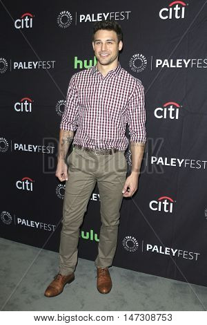 LOS ANGELES - SEP 10:  Ryan Guzman at the PaleyFest 2016 Fall TV Preview - ABC at the Paley Center For Media on September 10, 2016 in Beverly Hills, CA
