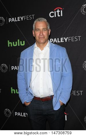 LOS ANGELES - SEP 10:  Aaron Kaplan at the PaleyFest 2016 Fall TV Preview - ABC at the Paley Center For Media on September 10, 2016 in Beverly Hills, CA