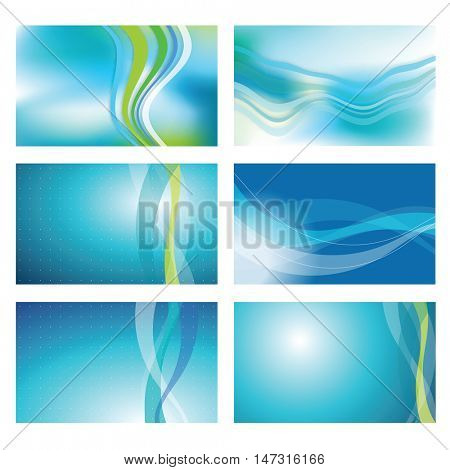 Abstract blue background - graphic element