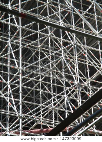 enormous scaffolding
