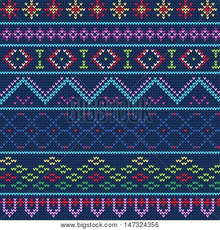 743348052fde6 Vector Illustration of Ugly sweater seamless Pattern for Design