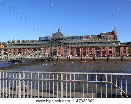 Hamburg Fishmarket Building