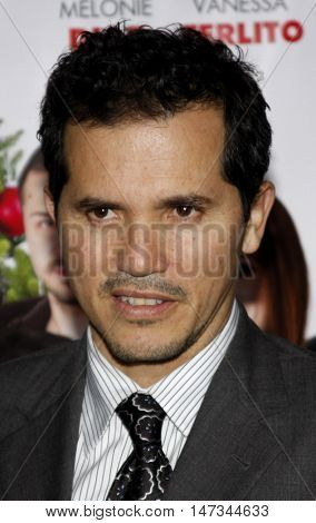 John Leguizamo at the Los Angeles premiere of 'Nothing Like The Holidays' held at the Grauman's Chinese Theater in Hollywood, USA on December 3, 2008.