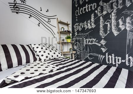 Music Bedroom In Creative Style