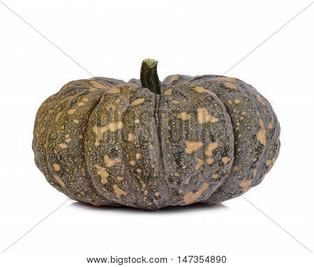 Kabocha squash isolated on white background food