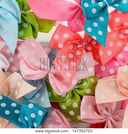 Colorful Ribbon Bows