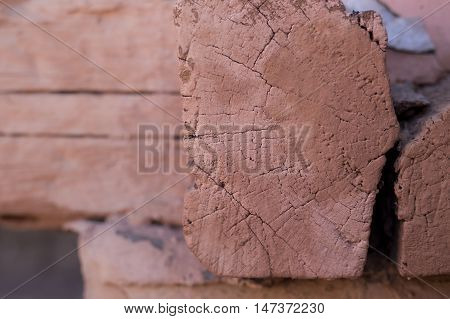 Square Log Wood