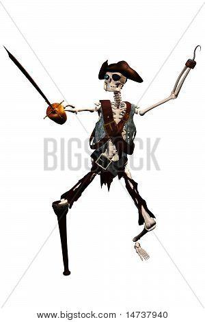 skeleton pirate