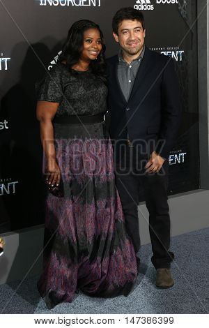 NEW YORK-MAR 16: Actress Octavia Spencer (L) attends the U.S. premiere of