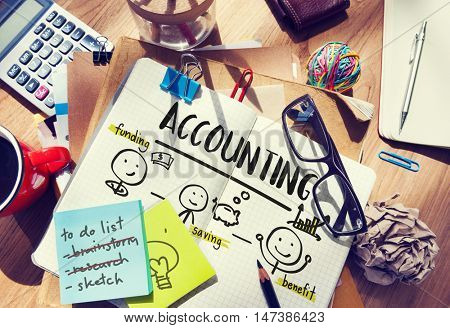 Financial Transaction Planning Accounting Income Investment Concept