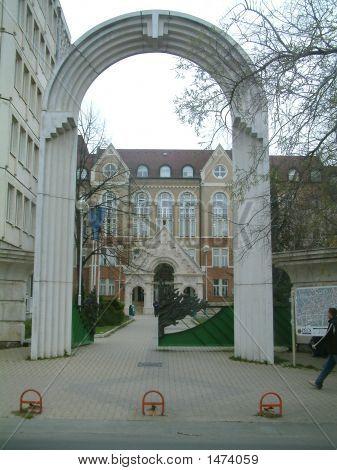 Entrance Of University