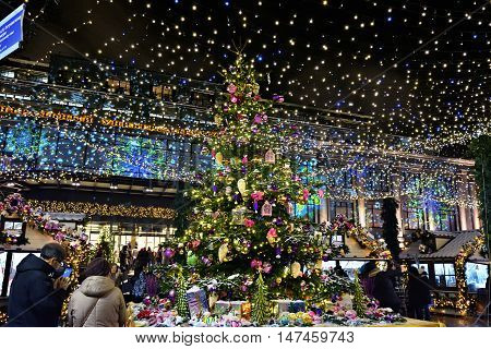 Christmas Holiday In Moscow, Russia
