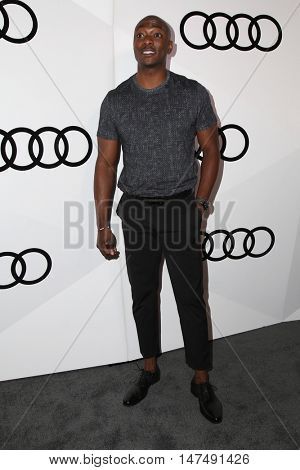 LOS ANGELES - SEP 15:  BJ Britt at the Audi Celebrates The 68th Emmys at the Catch on September 15, 2016 in West Hollywood, CA