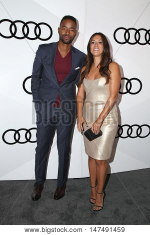 LOS ANGELES - SEP 15:  Guest, Angelique Cabral at the Audi Celebrates The 68th Emmys at the Catch on September 15, 2016 in West Hollywood, CA