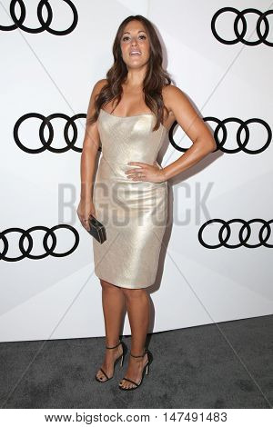 LOS ANGELES - SEP 15:  Angelique Cabral at the Audi Celebrates The 68th Emmys at the Catch on September 15, 2016 in West Hollywood, CA