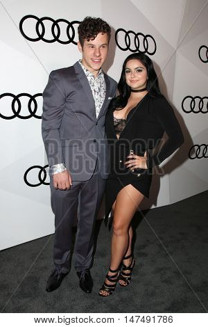 LOS ANGELES - SEP 15:  Nolan Gould, Ariel Winter at the Audi Celebrates The 68th Emmys at the Catch on September 15, 2016 in West Hollywood, CA