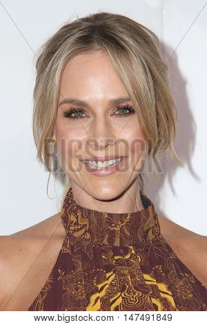 LOS ANGELES - SEP 15:  Julie Benz at the Audi Celebrates The 68th Emmys at the Catch on September 15, 2016 in West Hollywood, CA