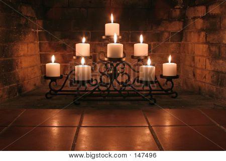 Kamin-Kerzen