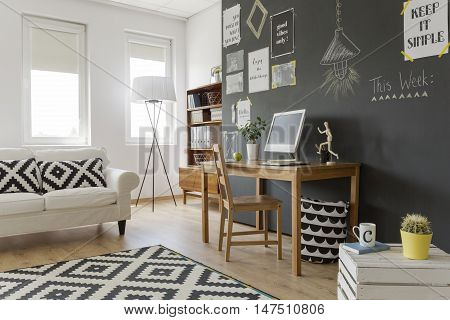 Black And White Mosaic Theme