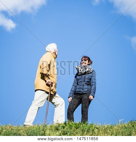 Walking With A Cane