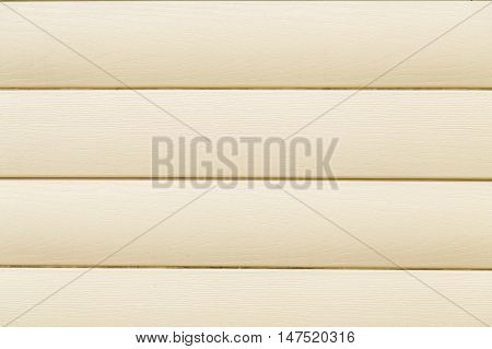 Yellow wood texture background of a house wall