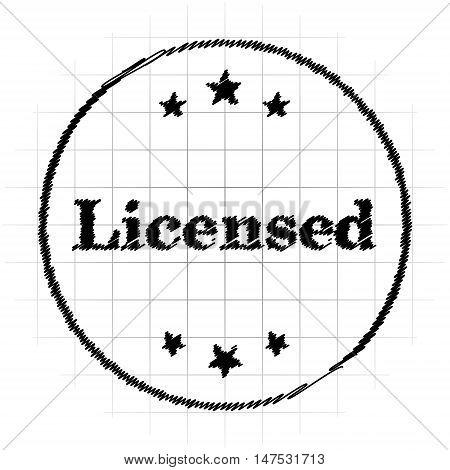 Licensed Icon
