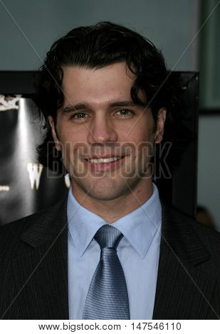 Jeff Wadlow at the Los Angeles screening of 'Cry Wolf ' held at the ArcLight Theaters Hollywood, USA on September 15, 2005.