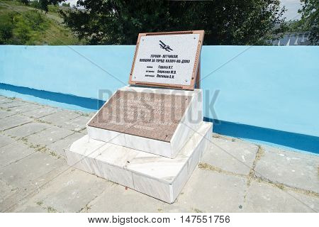 Grave To The Soviet Pilots